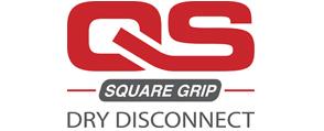 KLAW Dry Disconnect Square Grip logo