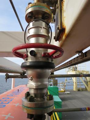 QS air supply offshore rig platform